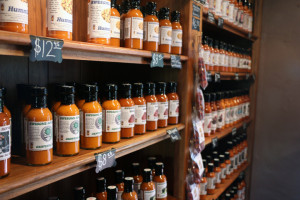Awesome Hot Sauce Shelves