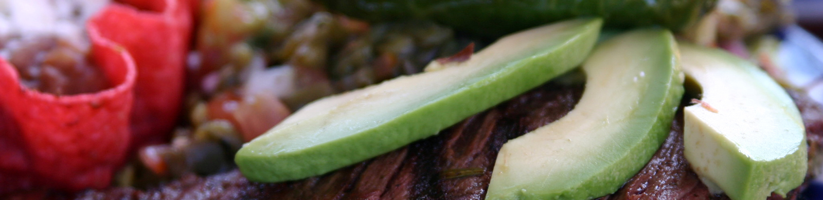 Steak and Avocado