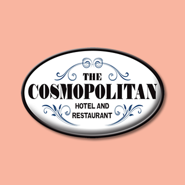 Cosmopolitan Hotel and Restaurant Logo