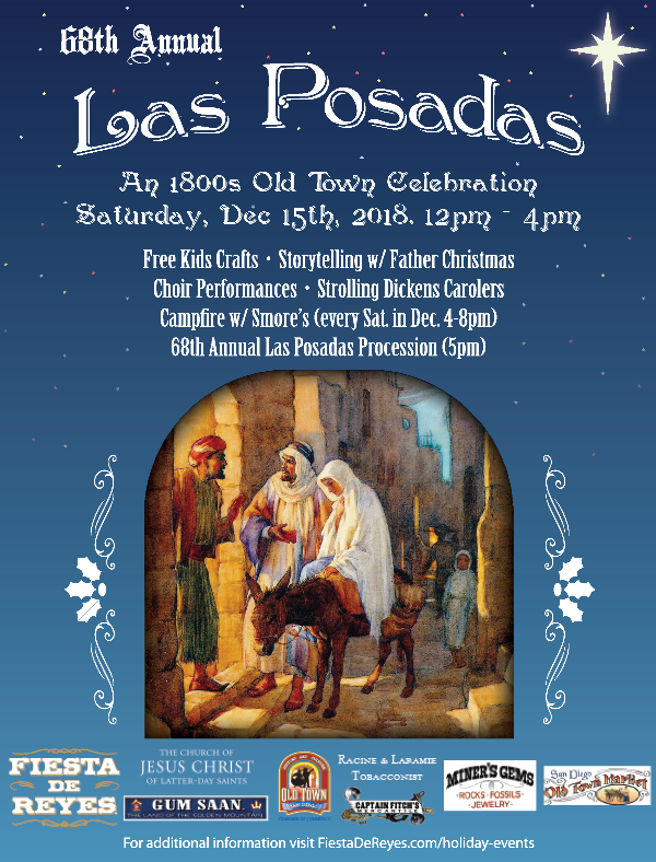 Ad for 68th Annual Las Posadas-click for accessible version